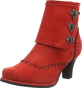 KF0000120_RC0_42, Damen Stiefel, Rot (Red), Gr. EU 42 (UK 8)Kickers