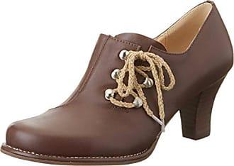 ELIZA 12219335 - Zapatos clásicos de cuero para mujer, color marrón, talla 41 Lise Lindvig