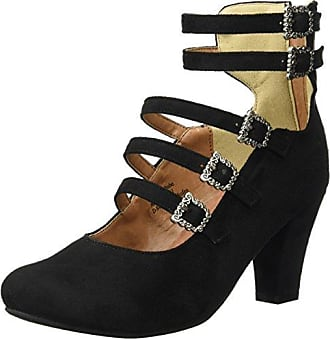 1003461 - Zapatos de Tacón Mujer, Color Plateado, Talla 38 Andrea Conti