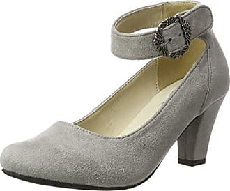 3009200, Damen Pumps, Grau (Schiefer 261), 37 EUAndrea Conti