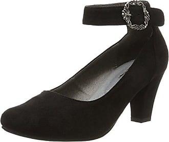3004508, Bride Cheville Femme - Noir - Noir (Schwarz 002), 38 EUHirschkogel