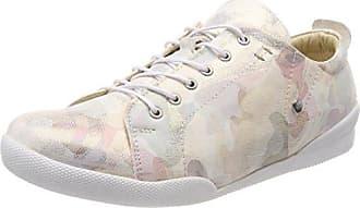 Andrea Conti 0342725, Zapatillas para Mujer, Multicolor (Anthrazit/Schwarz 169), 38 EU