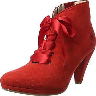 1672711, Bottines Femme, Rouge (Karminrot 198), 41 EUAndrea Conti