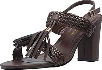ANDRES MACHADO - Damen Sandaletten - Blau Schuhe in Übergrößen, Größe:45
