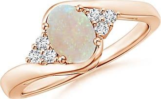 Angara Brown Diamond Bypass Halo Ring in Rose Gold - Angaras Coffee Diamond
