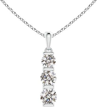 Angara Six Stone Diamond Journey Necklace