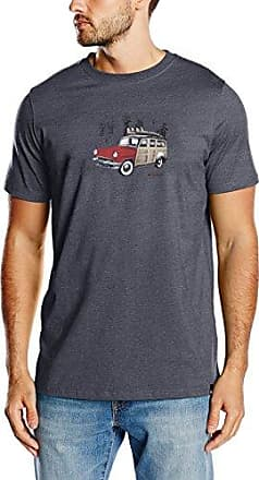 Woody, T-Shirt Homme, Blue (Total Eclipse Navy Marl), 42(Taille du Fabricant: Large)Animal