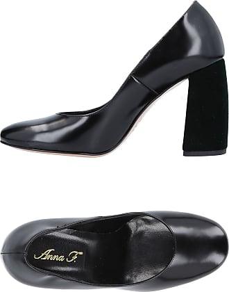 Zapatos de Tacón de Salón Baratos en Rebajas Outlet, Rojo Carmín, Gamuza, 2017, 36 39.5 Anna F.