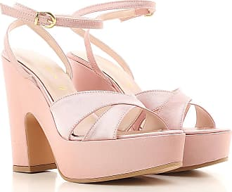 Womens Shoes On Sale, Powder Pink, satin, 2017, 4.5 5.5 6.5 7.5 Annarita N.