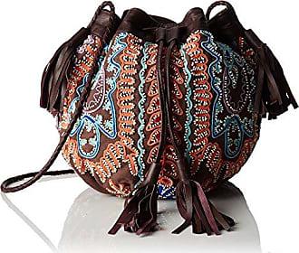 Otto1bag, Damen Schultertasche, Braun - Braun (Brown) - Größe: Einheitsgröße Antik Batik