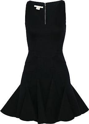 Antonio Berardi Woman Flared Modal-neoprene Mini Dress Black Size 44 Antonio Berardi