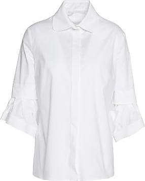 Antonio Berardi Woman Layered Cotton-blend Poplin Shirt Pastel Pink Size 38 Antonio Berardi