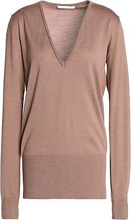 Antonio Berardi Woman Merino Wool And Silk-blend Knitted Top Leaf Green Size 42 Antonio Berardi