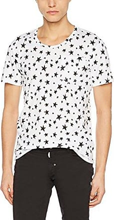 MMKS01293, Camiseta para Hombre, Blanco (Bianco), Large Antony Morato