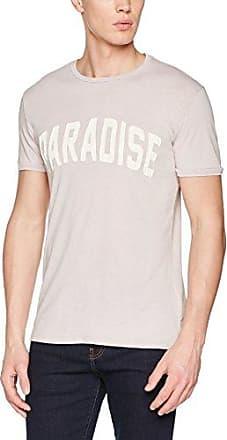 T-Shirt Girocollo Acid Wash, Camiseta para Hombre, Verde (Army Green), Small Antony Morato