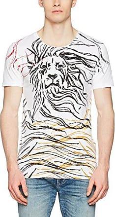 MMKS01295, Camiseta para Hombre, Blanco (Bianco), Medium Antony Morato