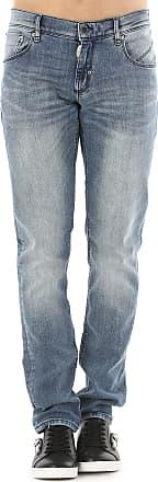 Jeans On Sale in Outlet, Fredo, Denim Blue, Cotton, 2017, US 28 - EU 44 Antony Morato