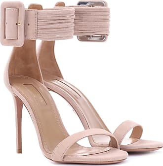 Sandals for Women On Sale in Outlet, Ivy Sandal, Sand, Suede leather, 2017, 8 Aquazzura