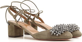 Pumps & High Heels for Women On Sale, Truffle, Suede leather, 2017, 4 4.5 7.5 Aquazzura