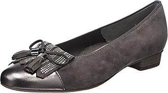 Ara Paris, Zapatos con Tira de Tobillo para Mujer, Negro (Schwarz 01), 38 EU Ara