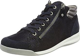 ara Rom, Baskets Hautes Femme, Noir (Blau,Midnight/Street 22), 41 EU