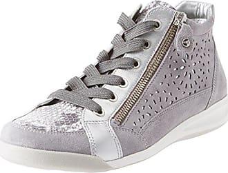 Ara Malmö, Zapatillas para Mujer, Grau (Silber,Grey/Chiara), 42 EU