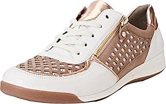Ara ROM, Zapatillas para Mujer, Weiß (Weiss, Bianco), 37.5 EU