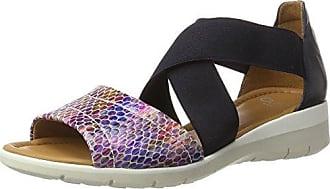 Womens Lugano-s T-Bar Sandals, Street Weite H, 4 Ara