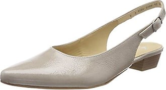 ara Damen Paris Slingback Pumps, Beige (Shell), 38 EU