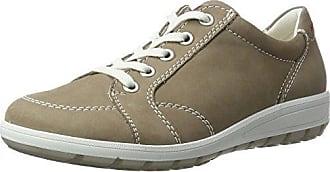 ara - Zapatillas de cuero para mujer, color negro, talla 8