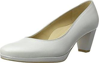 Padua - Zapatos de Tacón Mujer, Color Blanco, Talla 39 Ara