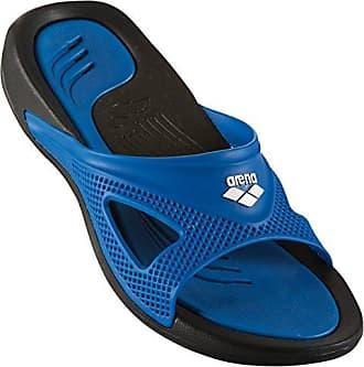 Arena Athena Woman Hook, Zapatos de Playa y Piscina para Mujer, Azul (Denim/Light 071), 36 EU
