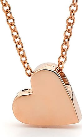 Argenton Design Rose Gold Baby Heart Necklace - 16.5 Inches
