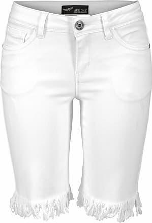 Lurex-Shorts mit Taschen aus Jeans ACOTÉ
