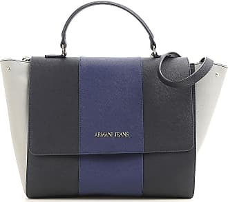 Top Handle Handbag On Sale in Outlet, Dark Steel Blue, Eco Leather, 2017, one size Armani Jeans