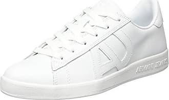 Emporio Armani Armani Jeans Sneaker Low Cut, Baskets Homme, Vert (Green 1812 09383), 39 EU