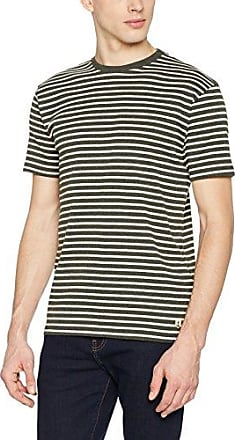 01525 - T-Shirt - À Rayures - Manches Longues - Homme - Blanc (400 Blanc/Navire) - XXX-Large (Taille Fabricant: 7)Armor Lux