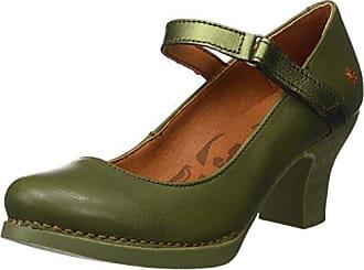Zapatos verde oliva Art para mujer laXkHx