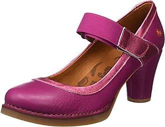 Art 0089 Memphis Bristol, Zapatos de Tacón con Punta Cerrada para Mujer, Negro (Black), 38 EU