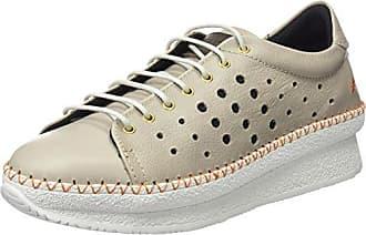 Art 1350S Metali Pedrera, Zapatillas para Mujer, Plateado (Plata), 38 EU