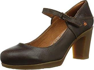Hotter DAISXS - Zapatos de tacn con Punta Cerrada de Piel Mujer, Color Azul, Talla 37.5