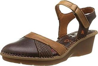 Angkorly Damen Schuhe Sandalen Mule - Knöchelriemen - Bi-Material - mit Stroh - Geflochten - Schleife Keilabsatz High Heel 6.5 cm - Schwarz YS458 T 38
