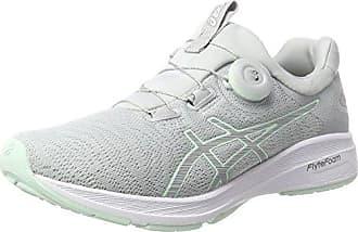 Asics Dynamis, Chaussures de Running Femme, Multicolore (Mid Grey/Glacier Grey/White), 37.5 EU