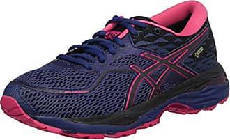 Asics Gel-Cumulus 20, Chaussures de Running Femme, Multicolore (Black/Flash Coral 002), 39.5 EU