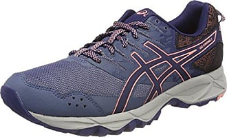 Gel-Fujitrabuco 6, Zapatillas de Running para Mujer, Azul (Indigo Blue/Begonia Pink/Smoke Blue 4906), 44 EU Asics