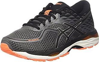 Asics Gel-Fujitrabuco 6, Chaussures de Gymnastique Homme, Gris (Carbon/Black/Hot Orange), 47 EU