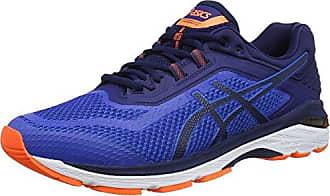 Asics GT-1000 6, Chaussures de Running Homme, Bleu (Bleu Victoria Blue/Dark Blue/Rose Shocking Orange 4549), 40 EU