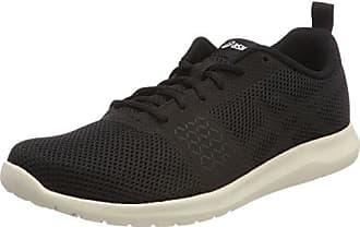 Amplica, Chaussures de Running Compétition Femme, Noir (Black/Black/White 9090), 41.5 EUAsics