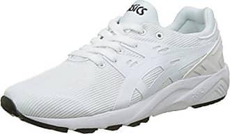 Asics Gel-Kayano Trainer EVO GS, Zapatillas Unisex Niños, Blanco (White/White 0101), 40 EU
