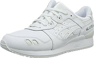 Asics HN6G4 - Chaussures - Baskets Basses - Mixte Adulte - Blanc (White) - 36 (Taille Fabricant: 3)